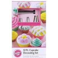 Wilton 12 Piece Cupcake Decorating Set at Joann.com
