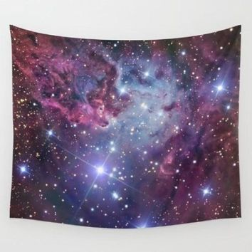 Cosmos Galaxy Polyester Wall Tapestry