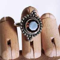 Cold as Ice Smoky Quartz Ring – Shop Dixi