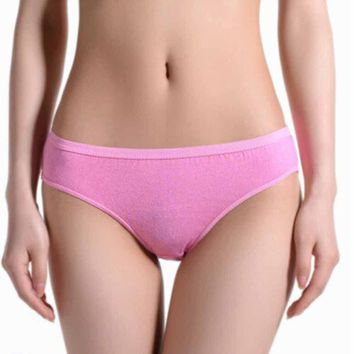 Travel Disposable Briefs Women Cotton Panties Underwear
