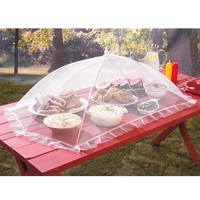 Extra Large Jumbo Outdoor Picnic Camping Portable Party Food Mosquito Fly Pest Bug Cover