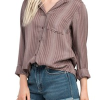 RVCA Denver Button Front Shirt | Nordstrom