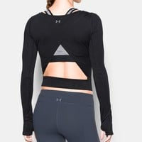 Women's UA Wishbone Long Sleeve Crop | Under Armour US