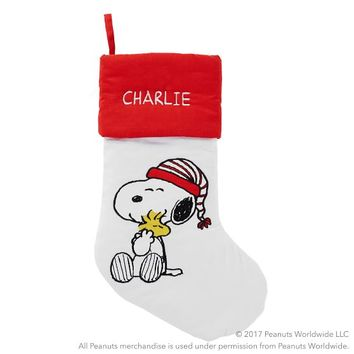 Peanuts® XOXO Stocking