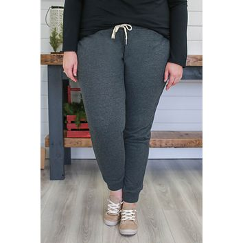 Homebody Joggers + Charcoal