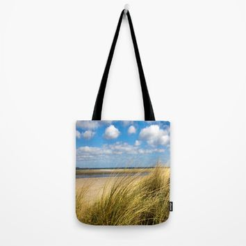 Beach whispers Tote Bag by Tanja Riedel