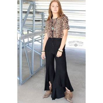 Paltrow Hi Lo Flared Pant by Crazy Train