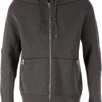 Lanvin elbow patch hoodie