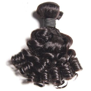Curly Weave Non Remy Bob Short Hair