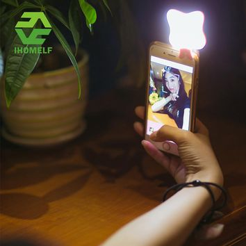 3 in 1 Mobile Phone Night Darkness Lens Fill Selfie Light With Mini Emergency Power Bank Portable Night Light Butterfly Lamp