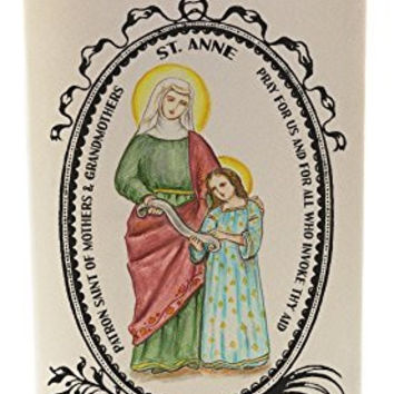 St Anne Holy Mother of Mary 20 oz Soy Scented Prayer Candle