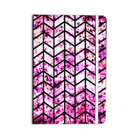"Ebi Emporium ""Chevron Wonderland"" Pink Black Everything Notebook"