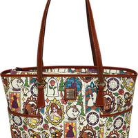 Disney Beauty And The Beast Dooney & Bourke Shopper Tote New Belle with Tags