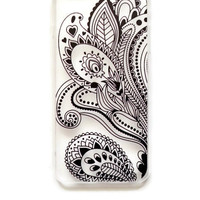 iPhone 6 Plus Case Cover Paisley Tribal Pattern iPhone 6 Plus Hard Case Geometric Henna Back Cover For iPhone 6 Plus Slim Design Case6