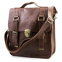 3 Color Small Vintage Women's Casual Leather Backpack Shoulder Messenger Bag NEW