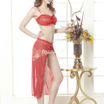 On Sale Cute Hot Deal Lace Prom Dress Sexy Underwear Club Exotic Lingerie [6594739267]