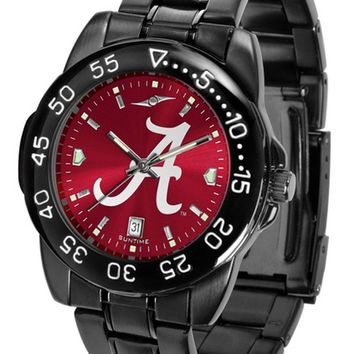 Alabama Crimson Tide Mens Fantom Watch Gunmetal Finish Anochrome