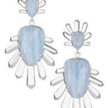 Kendra Scott 'Sterling' Spike Stone Drop Earrings - Multiple Colors
