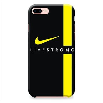 LIVESTRONG NIKE LOGO SPORT BIKE iPhone 8 | iPhone 8 Plus Case