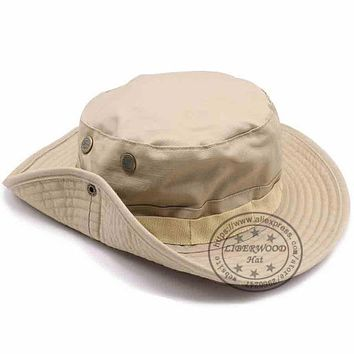 Sports Hat Cap trendy  LIBERWOOD Tactical hat Boonie hat cap for Wargame,Sports,fishing,Hunting Multicam Airsoft Sniper cap Men bucket hats Sun Hat KO_16_1