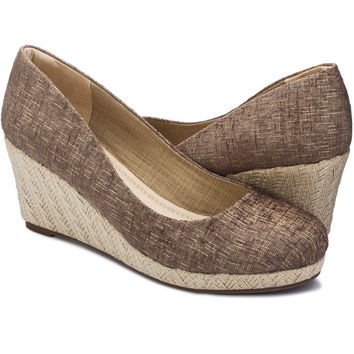 Carmen Wedge Beige for Women