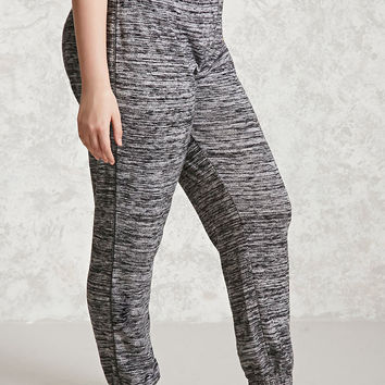Plus Size Marled Sweatpants