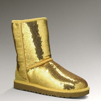 Womens Classic Short Sparkles by UGG Australia