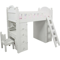 "Teamson Kids - My Sweet Girl 18"" Doll Bunk Bed-KYW-11513A"