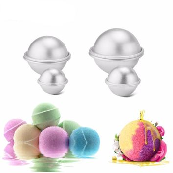 6pcs/pack Bath Bombs Metal Aluminum Alloy Bath Bomb Mold
