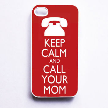 Keep Calm Apple iPhone 4 Case by onyourcasestore on Etsy