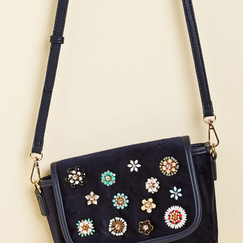Revel in Velvet Crossbody Bag