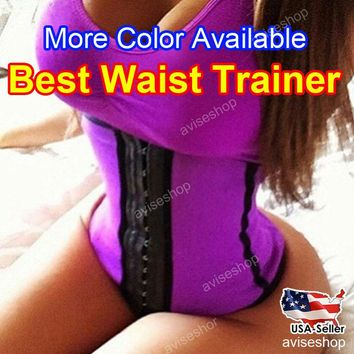 Workout Belly Girdle Band Corset Waist Trainer Cincher Contral Body Shaper Underbust Corset Belt