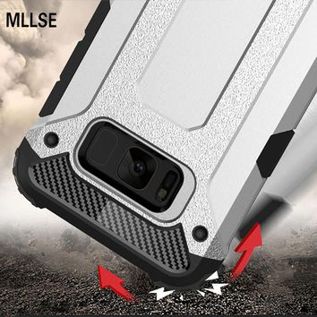 Armor Phone Case For SAMSUNG Note 8 S9 S8 Plus S7 6 Edge