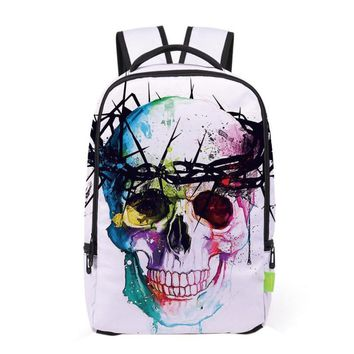 New arrival cool 3D printing Women men Classic XINIU brand  Travel  backpack 2017 childrens girl school bags drawstring bag