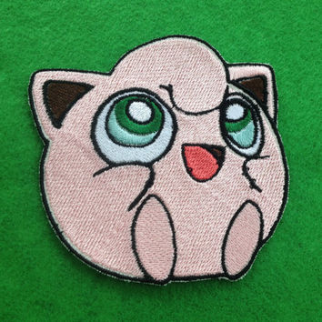Jigglypuff Iron-on Patch