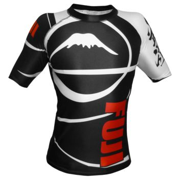 Fuji - Freestyle IBJJF Ranked Rashguard Short Sleeve (Black)