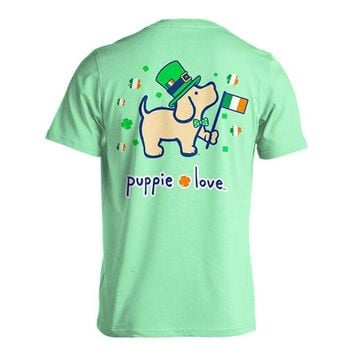 St. Patrick's Pup Tee by Puppie Love