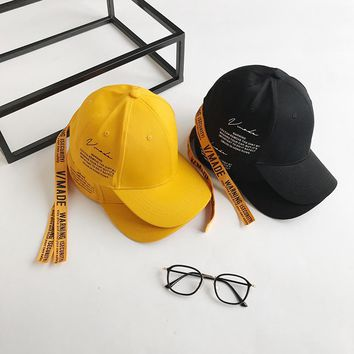 Fashion Security Embroidery Baseball Caps Men 2017 Newest Yellow Black Hats Hip Hop Streetwear Snapback Cap Man Hats