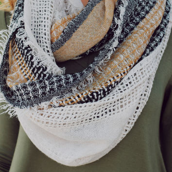 Come Together Infinity Scarf