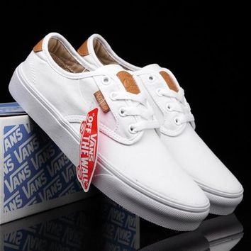 Trendsetter Vans Classic Old Skool Canvas Flats Sneakers Sport Shoes