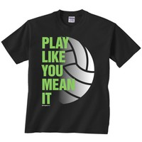 Women's ImageSport Volley Ball Mean It T-Shirt | Scheels