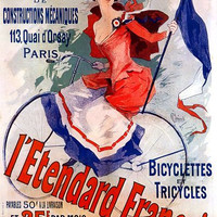 Vintage French Advertising Poster L'Etendard Francais