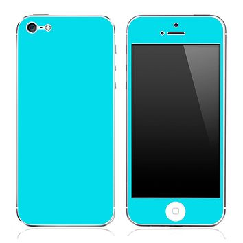 Blue skin for the iPhone 3g,3gs,4/4s or 5