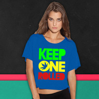 kep one rolled boxy tee