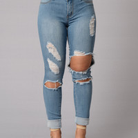 Boardwalk Jeans - Light Wash