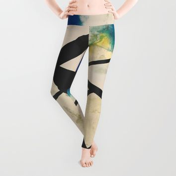 Zero Degrees of Freedom Leggings by EXIST NYC