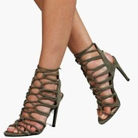Anna Lace Up Gladiator Heel