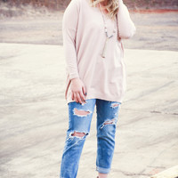 Day Dreamers Sweater, Blush