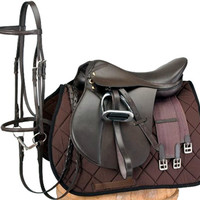 Saddles Tack Horse Supplies - ChickSaddlery.com EquiRoyal Event Winner Saddle Package