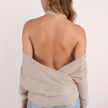 Evana Halter Sweater